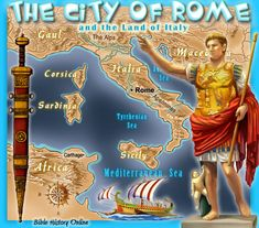 The City of Rome in Bible Times - great visual for power point