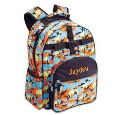 Jungle Camo Backpack $39.99           Now $19.99