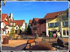 Stop in Frankenmuth, MI on our way to Mackinac Island! A small German town, famous for its chicken & Bronners - where it's Christmas year-round!