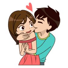 So Much Love 2 sticker Cute Love Stories, Cute Love Pictures, Cute Cartoon Pictures, Cartoon Pics, Tumblr Cute Couple, Cute Love Couple, Love Cartoon Couple, Anime Love Couple, Cute Love Cartoons