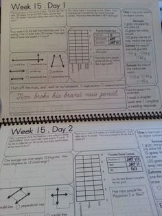 daily math morning work - third grade - includes cursive, grammar, and math spiral review