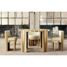 Купить итальянский геометрический стол 01 Cylinder в стиле Арт Деко от Atelier Mo.Ba