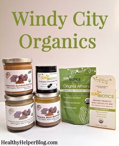 Windy City Organics on Foods of the Moment: Sauces, Spreads, and Snacks from HealthyHelperBlog.com  #food #health #wellness #productreview #healthyliving #healthyfood #healthyproducts #reviews #healthyliving