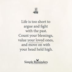Life is too short to argue by Unknown Author