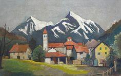 Karl Hofer - Tessiner Landschaft (1933)