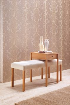 Porada - Giulietta Bench with Romeo End Table