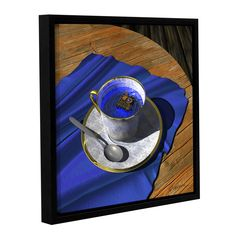 Infinitea by Cynthia Decker Gallery-Wrapped Floater-Framed Canvas