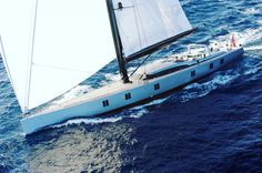 Our #superyacht of the #weekend is Sarissa: a fantastic combination of #adventure and #pleasure! It can accommodate up to eight guests in master cabin double twin and a convertible study/guest cabin. Could this be your #perfect choice for the #summer?  #aeolianluxury #yachtcharter #travelagency #holidayplans #perfectholiday #dreamvacation #yachtgetaways #yachts #boats #sailing #cruise #enjoylife #lifeisgood #vacation #holiday #travel #leisure #relax #Mediterranean #sea #luxury…