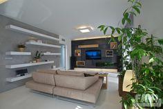 Moderní obývací pokoje inspirace - Rodinný dům, Nučice | FAVI.cz