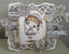 . Diy And Crafts, Dolls, Frame, Projects, Christmas, Cards, Inspiration, Home Decor, Log Projects