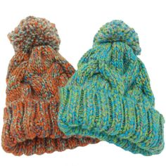 Winter Beanies For Women Knitted Acrylic Hats Mix Colors Skullies And Beanies Knit Big Pompom Caps Free Shipping Female Beanie #>=#>=#>=#>=#> Click on the pin to check out discount price, color, size, shipping, etc. Save and like it!