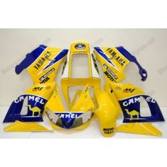 Yamaha YZF-R1 1998-1999 Injection ABS Fairing - Camel - Yellow | $659.00