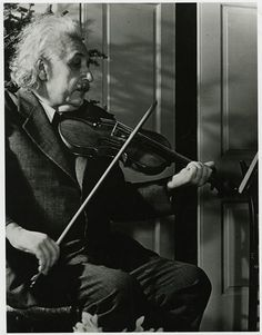"""""""If I were not a physicist, I would probably be a musician. I often think in music. I live my daydreams in music. I see my life in terms of music. I get most of my joy in life out of music"""" ~ Albert Einstein Life Magazine, Musica Celestial, Electric Violin, Magazine Pictures, Picture Editor, E Mc2, Albert Einstein Quotes, Physicist, Foto Art"""