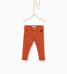 Image 1 of Twill trousers from Zara