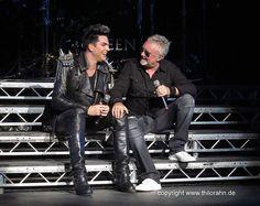 Roger Taylor & Adam Lambert, London show, 14th July 2012 | Source: Thilo Rahn
