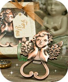 Cherub Angel Bottle Opener Party Favors - COUPON CODE saveme5