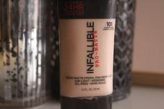 Resenha: Base Infallible Pro-Matte (L'oréal) | Review: Infallible Pro-Matte Foundation (L'oréal)