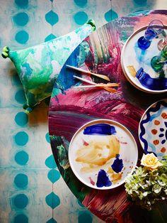 Colour Inspiration  Bonnie & Neil · 'Home' Collection — The Design Files | Australia's most popular design blog.