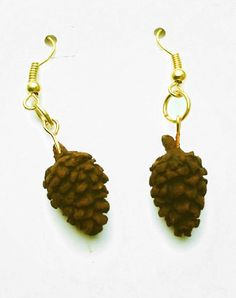 Check out this item in my Etsy shop https://www.etsy.com/listing/494273691/christmas-earrings-miniature-pine-cone