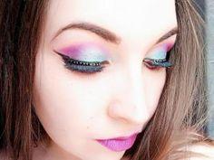 Pop fuchsia makeup | Monday Shadow Challenge • Hellocoton.fr