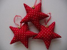 Weihnachtsdeko /3 Sterne gepunktet  3 por 10,95