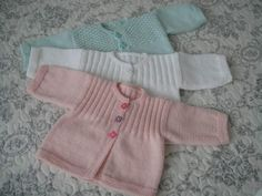 Planning Your Baby's Layette Baby Cardigan, Cardigan Bebe, Baby Vest, Baby Knitting Patterns, Baby Patterns, Knitting For Charity, Knitting For Kids, Crochet Baby, Knit Crochet
