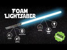 Calimacil Foam Lightsaber KICKSTARTER: A Safe and Immersive Way to Let Loose Your Inner Jedi - Star Wars Reporter