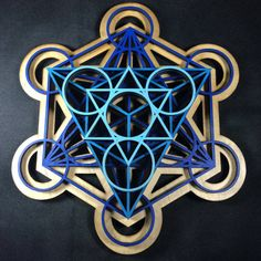 Metatron's Cube, Painted blues