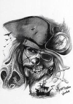 Sketches for future tattoos Tattoo Sketches, Tattoo Drawings, Body Art Tattoos, Hand Tattoos, Tribal Tattoos, Sleeve Tattoos, Cool Tattoos, Portrait Tattoos, Tattoo Pirate
