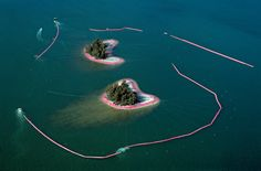 Surrounded Islands, Biscayne Bay, Greater Miami, Florida, 1980-83