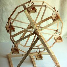 ferris wheel popsicle sticks - Google Search