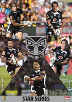 Star Series Rugby League, Auckland, Warriors, Baseball Cards, Sports, Hs Sports, Sport, Military History