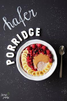 Bestes Gesundes Porridge Super cremig, nussig & wärmend…