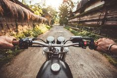 Biker driving his motorcycle  by Jacob Lund Photography on @creativemarket