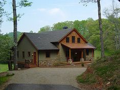 small timber frame homes - Google Search natural, earthy, beautiful exterior colors