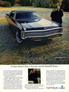 1969 Imperial LeBaron 4-Door Hardtop: Women love their cars too