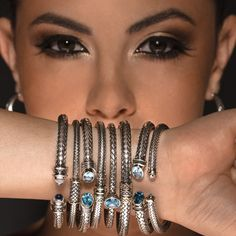 One look and you will full in live with our new silver bracelet collection! Visit us