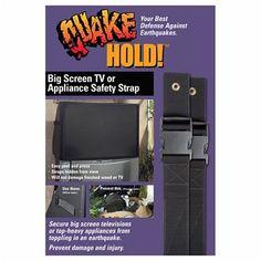 QuakeHold! Big Screen & Appliance Strap