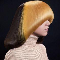 Haircuts For Long Hair, Trendy Hairstyles, Wig Hairstyles, Pageboy Haircut, Mushroom Hair, Wacky Hair, Extreme Hair, Hair Photo, Grunge Hair