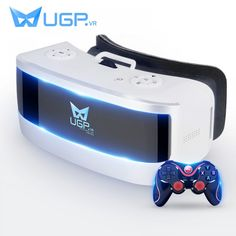 UGP VR Glasses All In One Inch Virtual Reality Glasses Eight Core With bluetooth Gamepad For Movie Cinema ALL VR Game-in Glasses/ Virtual Reality Glasses from Consumer Electronics Wi Fi, Vr Box, Virtual Reality Games, Films Cinema, Game Prices, Nintendo, Ios Phone, Bluetooth Remote, Vr Games