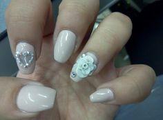 Pink... Manty nails