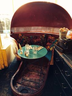 Straw - San Francisco, CA, United States. Sweet Tilt-o-Whirl Table Corner Table, Pack Your Bags, Beautiful Space, Tilt, Family Travel, San Francisco, Anna, United States, Iron