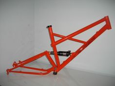 Photo of in Tauranga, New Zealand. The trail frame with general lee orange paint job Motorbike Design, Bicycle Design, Downhill Bike, General Lee, Cargo Bike, Cool Bicycles, Bike Frame, Custom Bikes, Bmx
