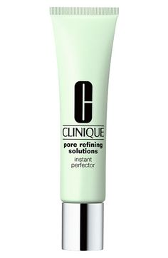 Clinique 'Pore Refining Solutions' Instant Perfector. Tinted, goes on first under or last over makeup. Can be used in conjunction with the serum.