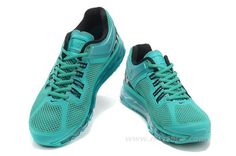 air max 2013 mens green/black/white [Air-Max-13023] - $75.00 : Cheap Nike Air Max, 2013,2012,90,Nike Sports Shoes For Women And Men,Free Shipping
