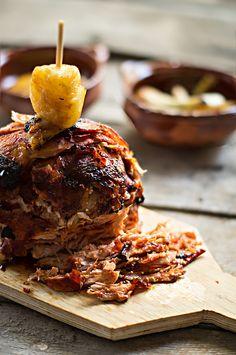 Recette pour tacos Al Pastor (à la facon du pasteur), recette en espagnol. Décadent délice. Carne para Tacos al Pastor