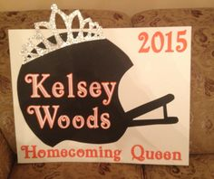 Homecoming Queen Car Poster