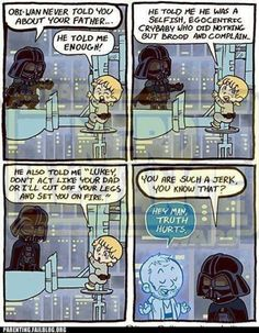 Luke I am your father!