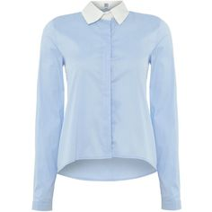 Hugo Boss Long sleeve button up shirt with pockets ($125) ❤ liked ...