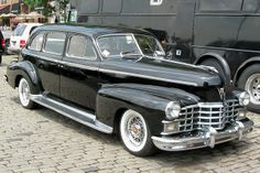 Old Cadillac Limousine